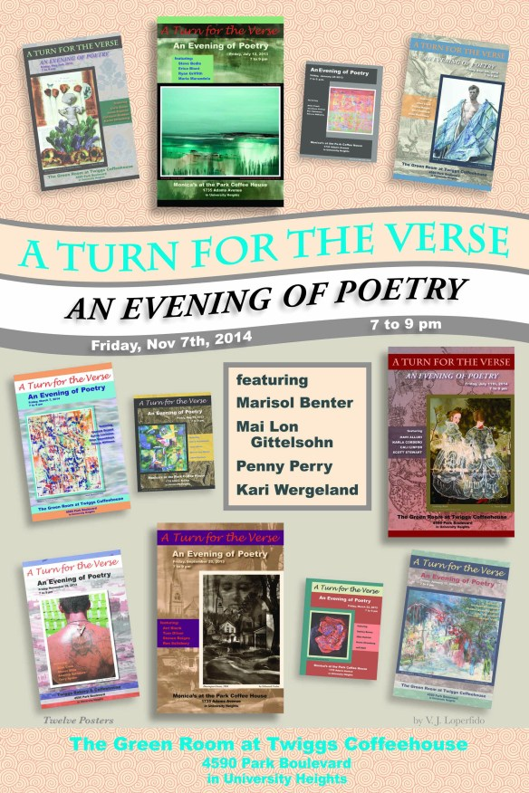 A Turn for the Verse: An Evening of Poetry